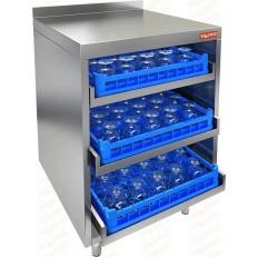Стол для посудомоечных корзин Hicold НБМКБ-6/5-7Б