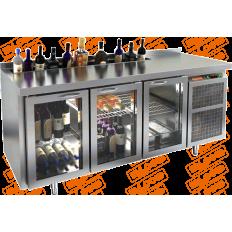 Барный холодильный стол Hicold GNG/SNG 111 HT V