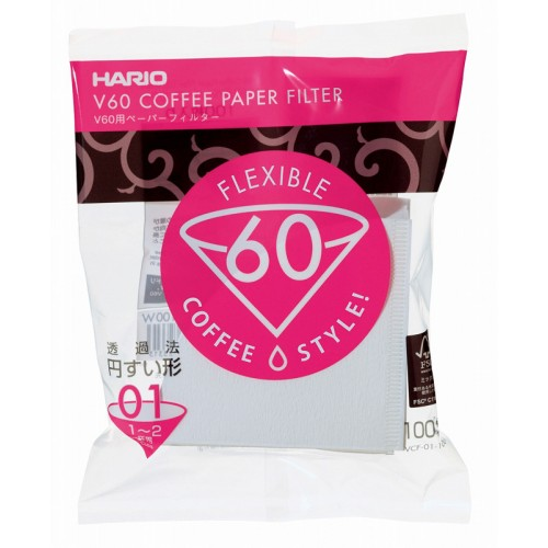 Фильтры бумажные Hario для дриппера 1-2 чашки