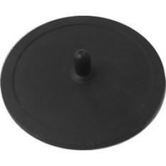 Слепой фильтр резиновый, 53 мм