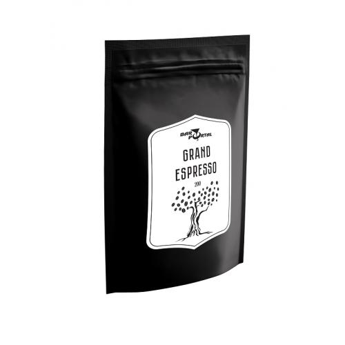 Кофе зерновой BarPortal, Grand Espresso, 200 г.