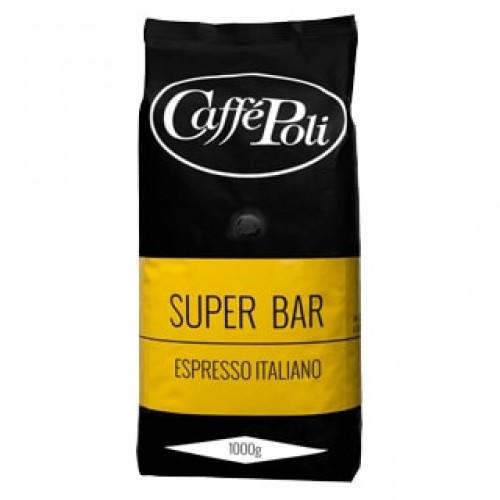 """Кофе зерновой Caffe Poli """"Super Bar"""", 1000 г."""