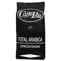 """Кофе зерновой Caffe Poli """"Total Arabica"""", 1000 г."""