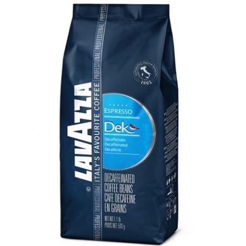 Кофе зерновой Lavazza DEK, 500 г.