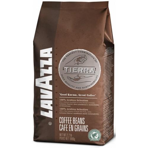 Кофе зерновой Lavazza Tierra Intenso, 1000 г.
