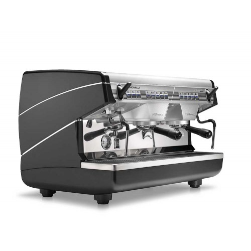"Кофемашина Nuova Simonelli ""Appia II 2 Gr V Black + Economizer + high groups"""