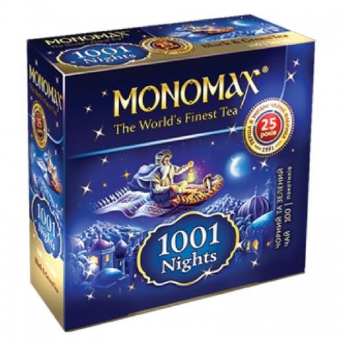 Чай в пакетиках Мономах 1001 Ночь, 100 пакетиков