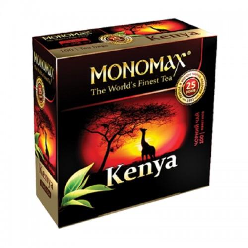 Чай в пакетиках Мономах Kenya, 100 пакетиков