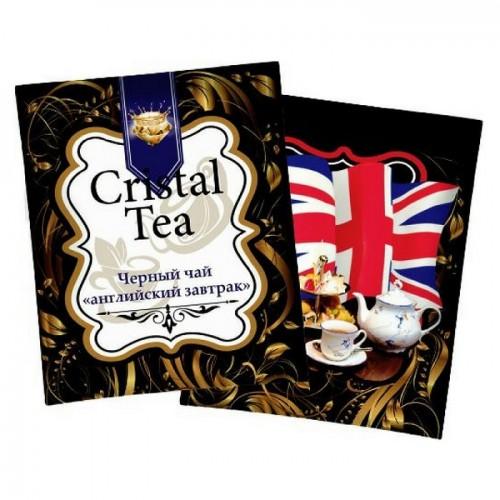 Чай в пакетиках Crystal Tea Английский завтрак, 50 пакетиков