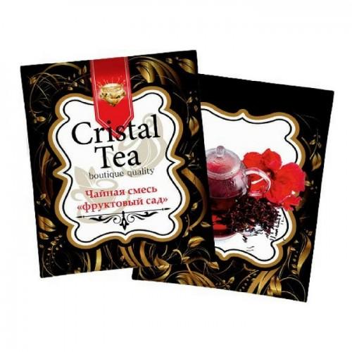 Чай в пакетиках Crystal Tea Фруктовый сад, 50 пакетиков