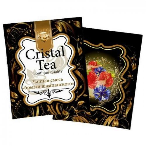 Чай в пакетиках Crystal Tea Брызги шампанского, 50 пакетиков
