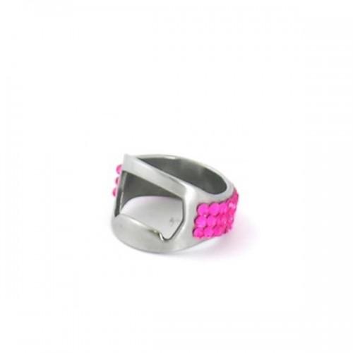 "Кольцо-открывалка ""Bling Pink"""