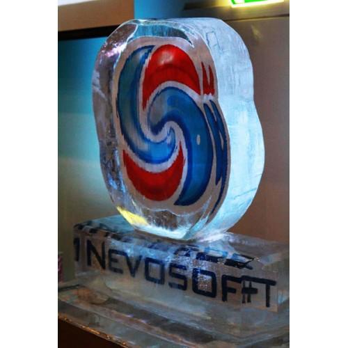 Логотипы изо льда