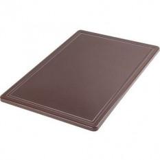 Доска разделочная Hendi, 265х325х12 мм, коричневая