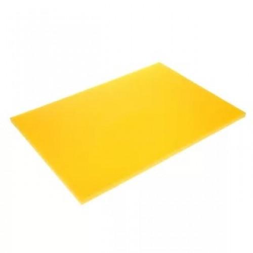 Доска разделочная Yizhou, 400х300х12 мм, желтая