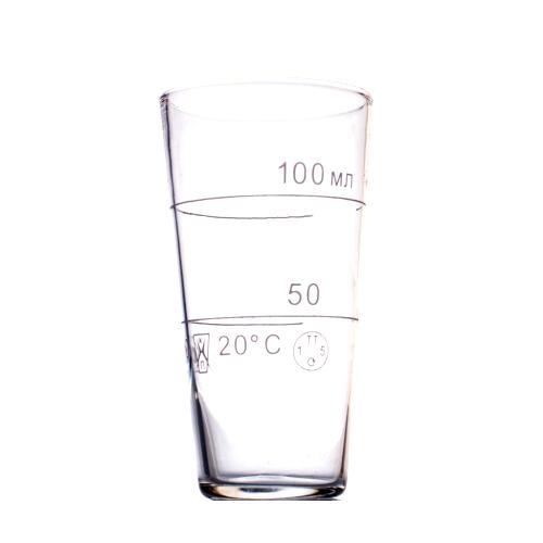 """Мерный стакан HLP-2 """"ГФ7.380.286"""", 100 ml."""