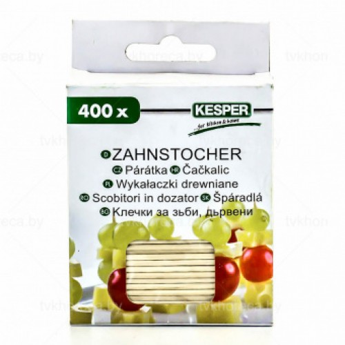 Зубочистки Kesper, 400 шт.