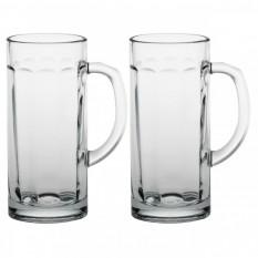 "Набор из 2-х пивных кружек Pasabahce ""Pub"", 380 ml."