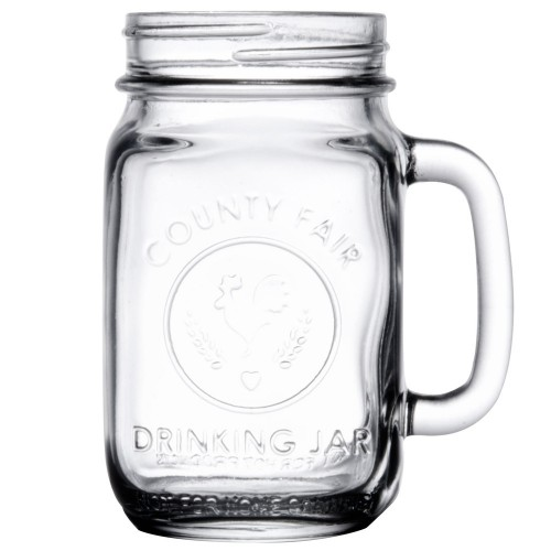 "Банка-кружка Libbey ""Jar"", 490 ml."
