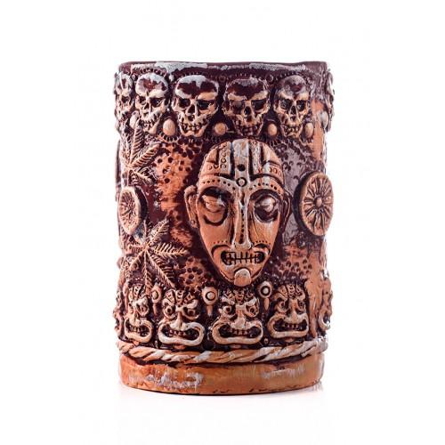 "Тики ""Aztecs' skulls"", 300 ml (Hand-made)"