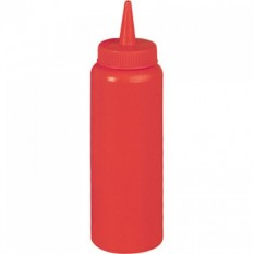 Емкость для соуса красная, 700 мл