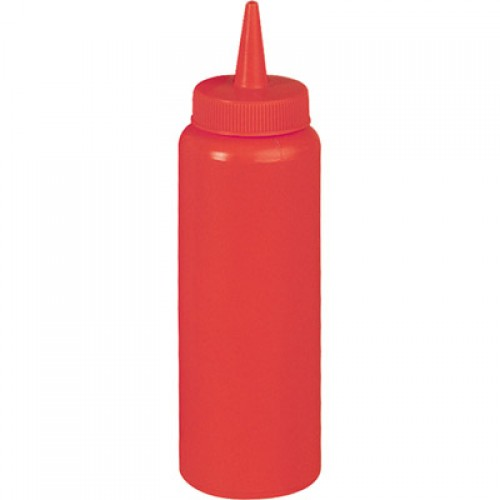 Емкость для соуса красная, 350 мл
