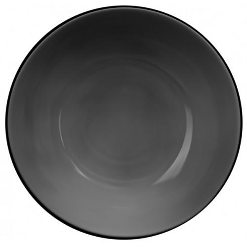 Тарелка Betterway International серый графит, 20,5см