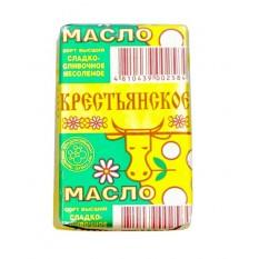 Масло сладкосливочное несоленое Крестьянское 72,5%, 180 г