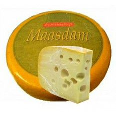 Сыр полутвердый Friendship Maasdam 45%, 1 кг