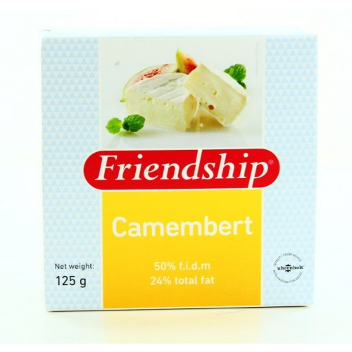 Сыр Friendship Camembert с белой плесенью, 125 г