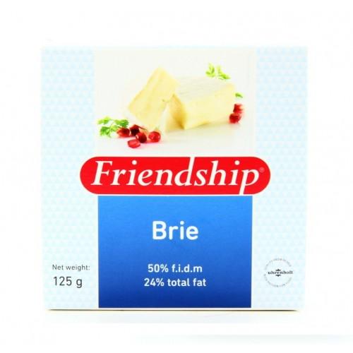 Сыр Friendship Brie с белой плесенью, 125 г