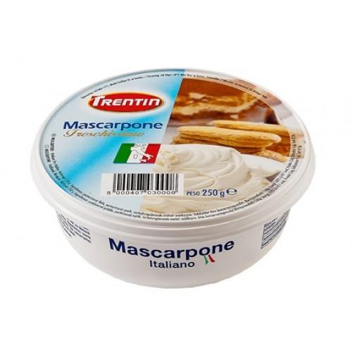 Сыр Trentin Mascarpone 80%, 250 г