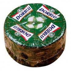 Сыр полутвердый с благородной голубой плесенью Dorblu Kaserei Champignon 50% весовой, 1 кг