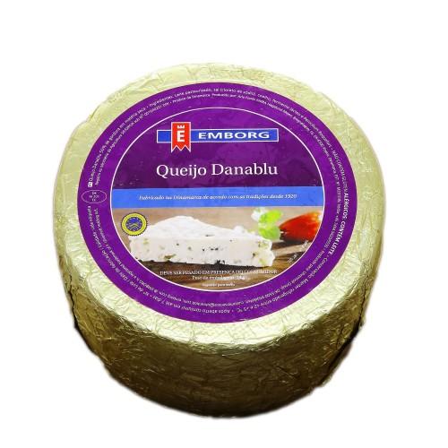 Сыр мягкий с голубой плесенью Данаблю Emborg, 3,2 кг