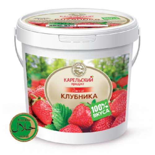 Джем клубничный Карельский продукт, 1200 г