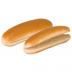 Булочка для хот-дога Датская с разрезом замороженная, 60 г, 90 шт