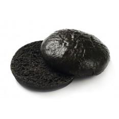 Булочка для бургера круглая черная замороженная, 60 г, 18 шт