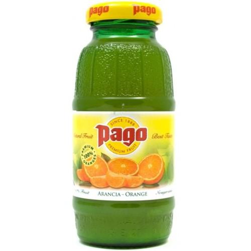 Сок Pago Апельсин, 0,2 л