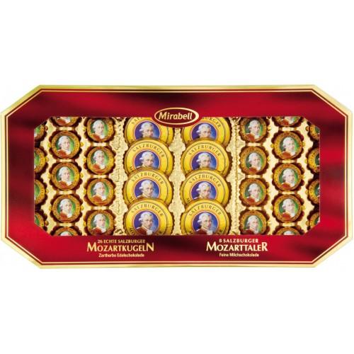 Конфеты Mirabell в подарочной упаковке с окошком , 600 г