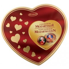Конфеты Mirabell в подарочной упаковке (сердечки) , 159 г