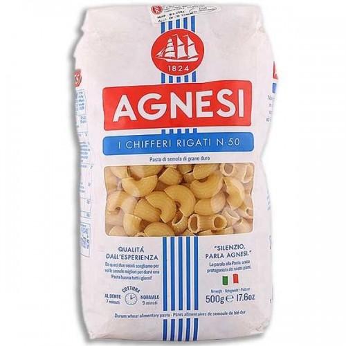 Макаронные изделия Agnesi Chifferi Rigati №50, 500 г
