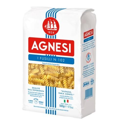 Макаронные изделия Agnesi Fusilli №102, 500 г