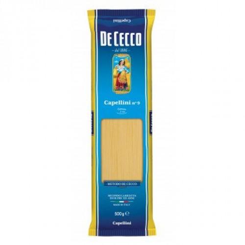 Макаронные изделия De Cecco Capellini №9, 500 г