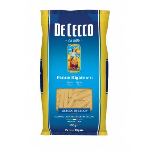 Макаронные изделия De Cecco Penne rigate №41, 500 г