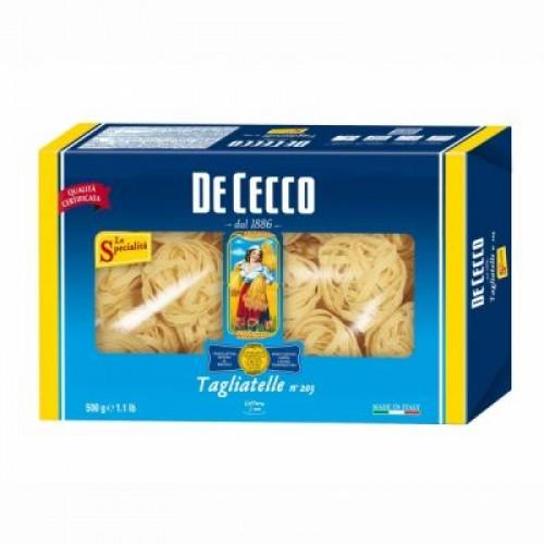 Макаронные изделия De Cecco Tagliatelle №203, 500 г
