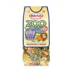 Макаронные изделия Dalla Costa Зоопарк со шпинатом и томатами, 250 г