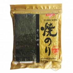 Водоросли морские SUSHI NORI ROASTED SEAWEED Sevenco, 50 листов