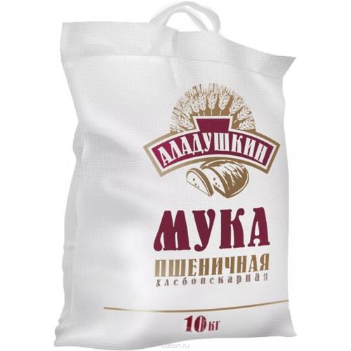 Мука пшеничная хлебопекарная Аладушкин, 10 кг
