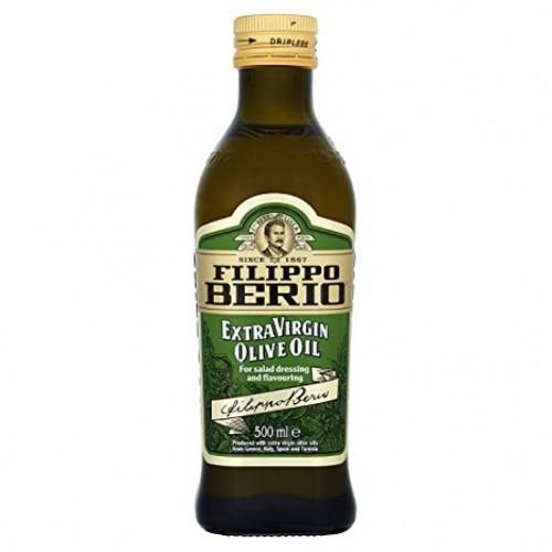 Масло оливковое Filippo Berio Extra Virgin, 500 ml.