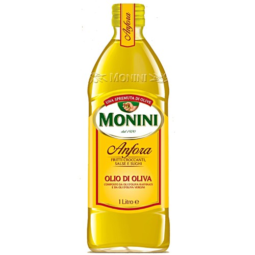 Масло оливковое Monini Anfora, 1000 ml.